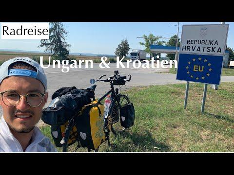 Radreise 🚲 alleine Richtung Istanbul 🚲⛺️ Teil 2 (Ungarn&Kroatien)