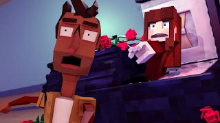 Minecraft   Hello Neighbor - THE NEIGHBORS WIFE DIED? (Secret Graveyard)