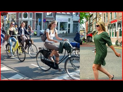 Weekend Cycling in Netherlands Europe Around One of the Beautiful City - Paradise for Cycling
