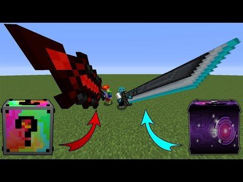 Minecraft Lucky Wars - 2 Farklı Şans Bloğu Bölüm 1