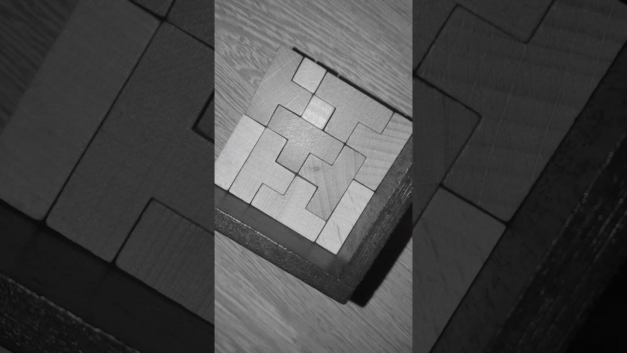 Casse-tête Les Cubes Dans Le Cube - YouTube