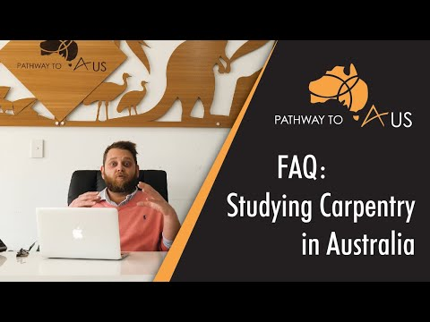 Studying Carpentry In Australia - Frequently Asked Questions