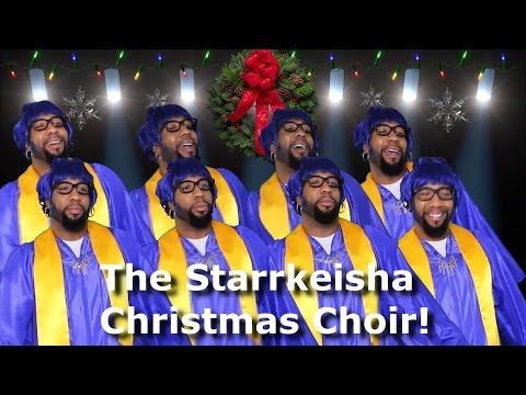 The Starrkeisha Christmas Choir! @TheKingOfWeird (Part 3)