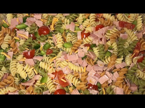 Pasta salad | Quick Appetizers | NotesFromNancy