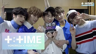 [t:time] '어느날 머리에서 뿔이 자랐다 (crown)' 1st Win! @the Show   Txt (투모로우바이투게더)