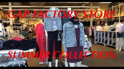 GAP FACTORY STORE OUTLET PRICES/CLOTHING/SUMMER COLLECTION