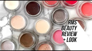 RMS Beauty Review and Demo | Organic, Natural Makeup Tutorial