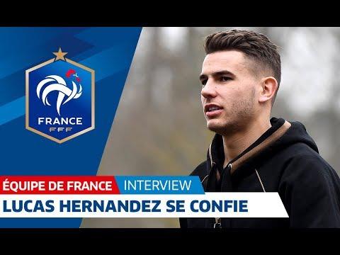 """Equipe de France : Lucas Hernandez : """"Une fierté de rejoindre les A"""" I FFF"""