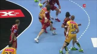 Vive Kielce Veszprem Final 8 goals in row 2-nd half FINAL 2016 EHF EU LM 2 polowa