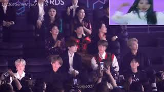 MGA2018 BTS reaction to Twice