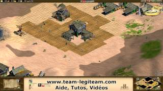Tutoriel - Age of empires II HD - Le scout rush transition Archer a l'age Féodal !