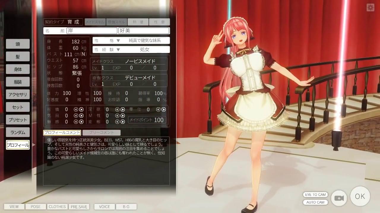 3d custom maid 2