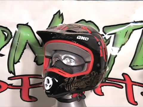 One Industries Kombat Hart & Huntington Helmet www.MonsterSportsInc.com