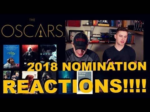 2018 Oscar Nominations Reaction, Predictions & Thoughts