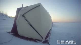 Рыбалка в Якутии в самой лучшей палатке Снегирь 4 Т long Yakutia