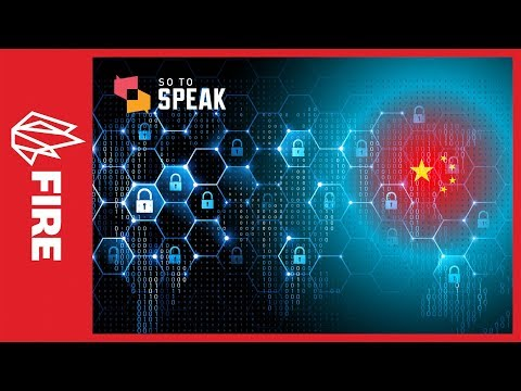 So to Speak podcast: The Great Firewall of China (3 of 4)