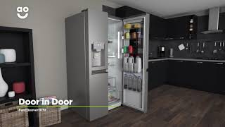 LG American Fridge Freezer Product Movie