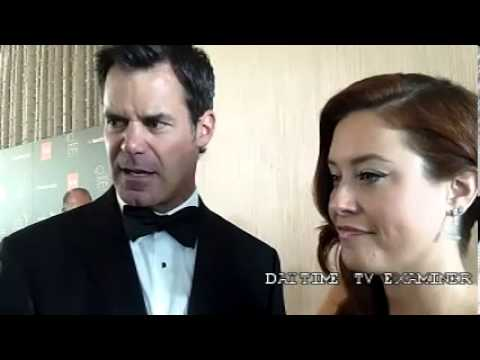 'One Life To Live': chatting with Tuc Watkins and Melissa Archer at Daytime Emmy Awards (Video)