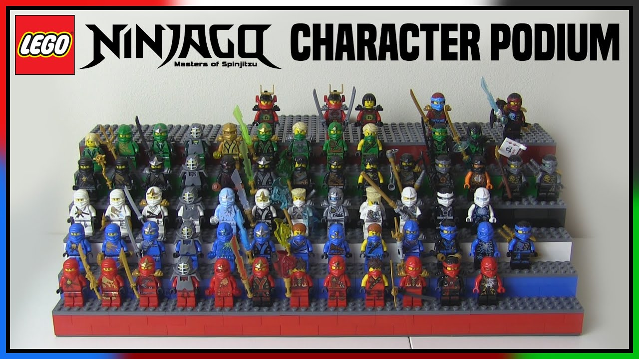 LEGO Ninjago Character Podium - YouTube