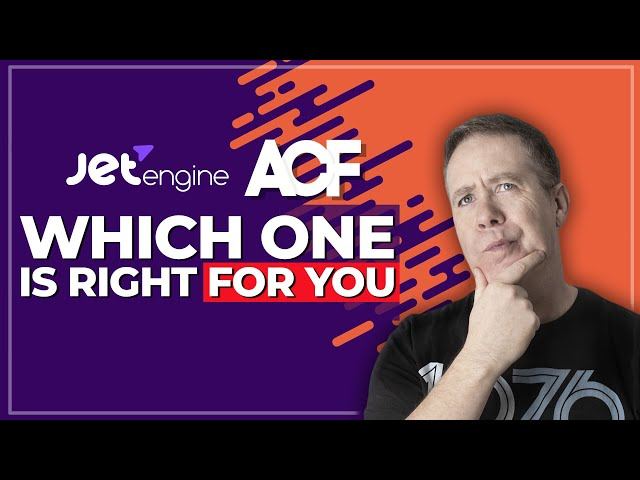 ACF Pro or Jet Engine - Which One Is Right For You?