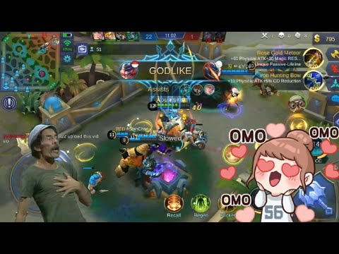GODLIKE FIGHTER FRANCO META! | WOLF XOTIC | MOBILE LEGENDS