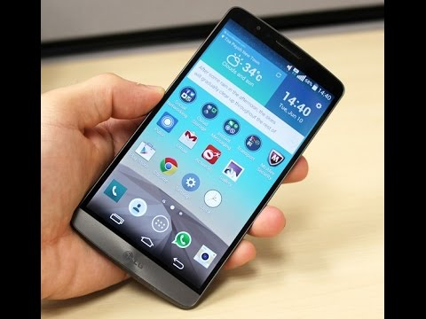 LG G3 With Android 5.0 Lollipop Review