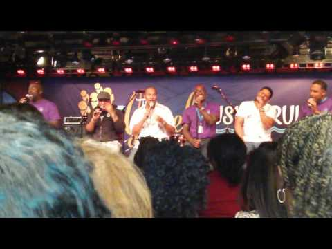 Gospel music cruise 2016(Take 6)