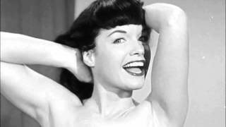 "Bettie Page in ""She Walks In Beauty"" by Lord Byron"