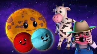 planet lagu untuk kanak-kanak | Lagu sistem suria | Belajar planet |Kids Rhyme | Planets Song