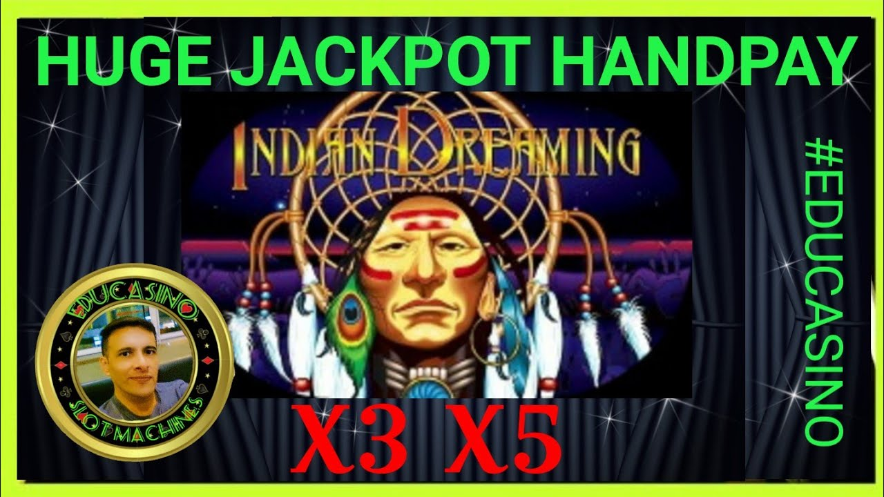 3 5 6 Chief Epic Jackpot Hand Pay Indian Dreaming Slot Machine Unfogerttable Youtube