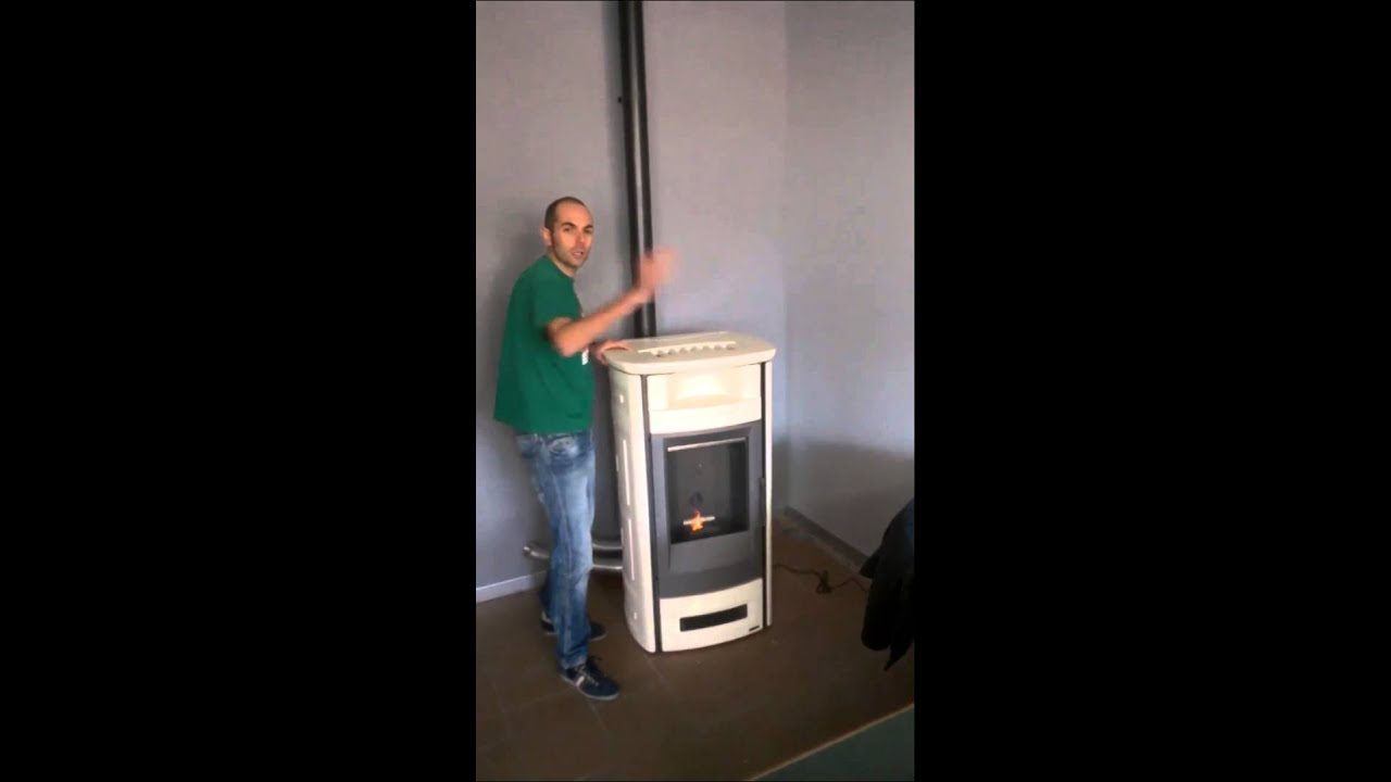 Stufa Pellet Piazzetta P963c_Ottoni Fuoco  YouTube