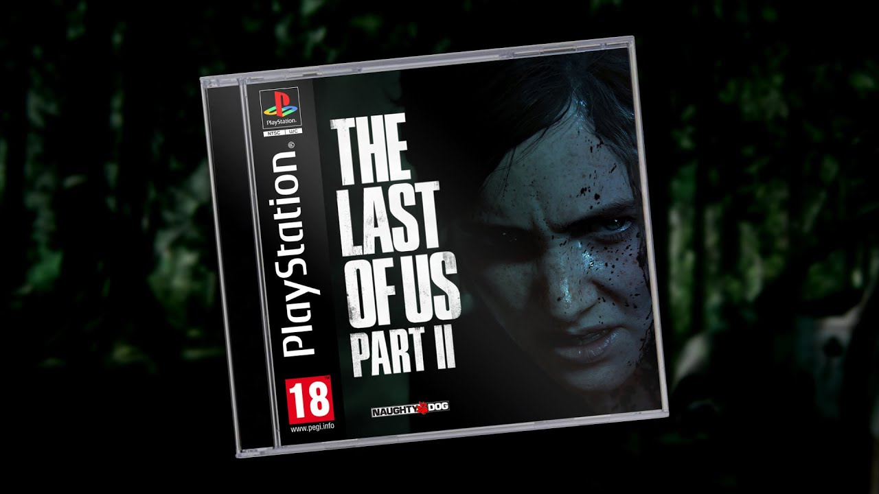 The Last Of Us Part Ii Ps1 Edition Youtube