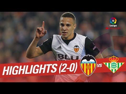Resumen de Valencia CF vs Real Betis (2-0)