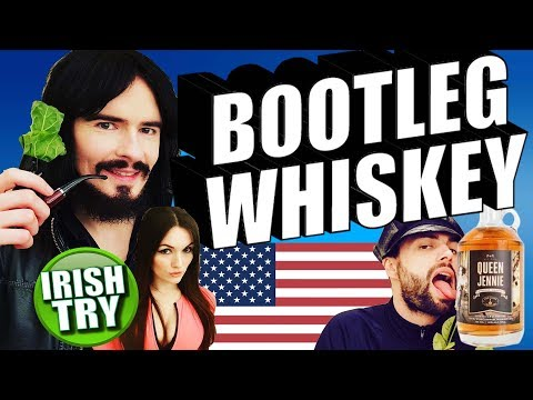 Irish People Taste Test American BOOTLEG WHISKEY!!