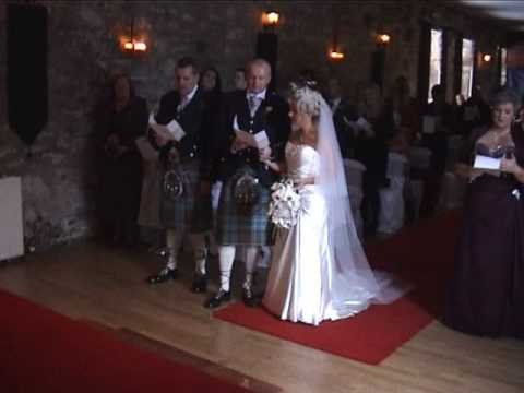 Mr Andrew Jump and Miss Sharon McLeish  Wedding Part 3 of 3