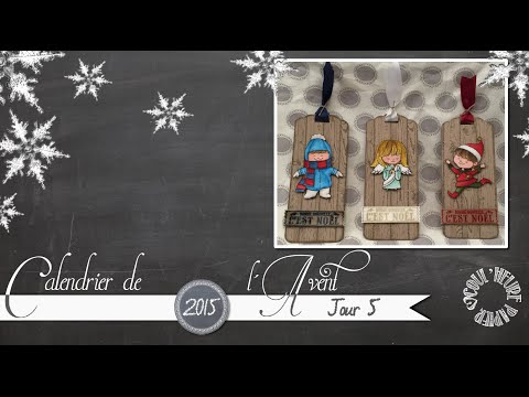 """Vidéo-Tuto """"Etiquettes Cuties"""" par Coul'Heure Papier"""