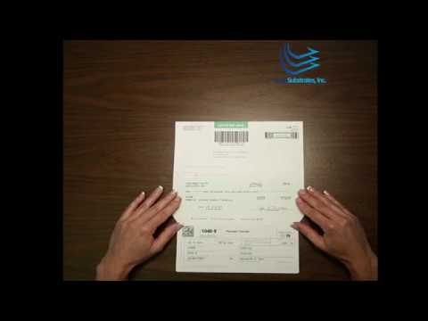 1040v Self Mailer Form By Lasersub Youtube