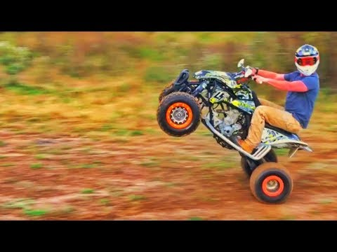 Covers And KTM QUAD Ride!