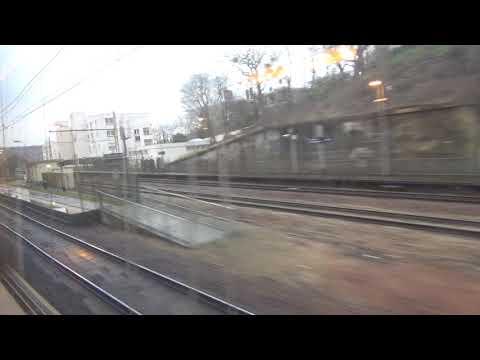 VB2N Transilien N de Paris Montparnasse à Viroflay Rive gauche partie 2 et fin