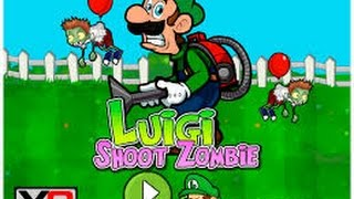 jeu Luigi Shoot Zombie.