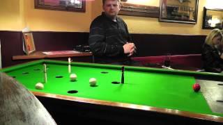 Guernsey Bar Billiards Ko Pairs Final 2012 - Game 1 [part 2]