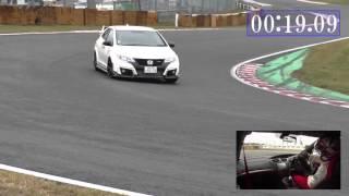 ホンダ・シビック・タイプR HONDA CIVIC TYPE R TSUKUBA Circuit thumbnail