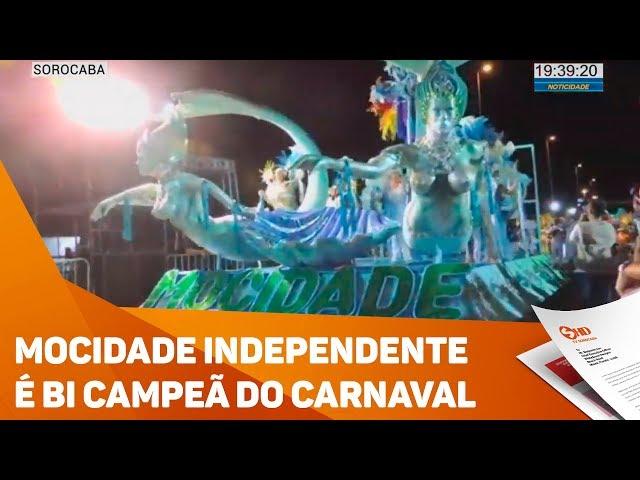 Mocidade Independente é bi campeã do Carnaval - TV SOROCABA/SBT