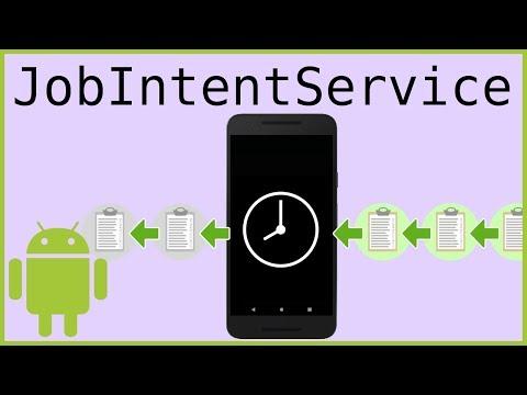 JobIntentService - Android Studio Tutorial - YouTube