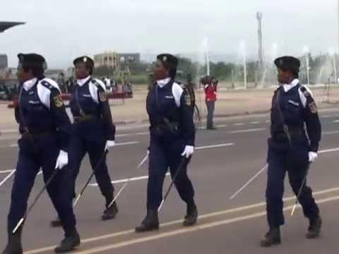 défilé du 30juin 2014 FARDC et PNC