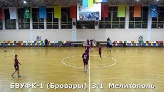 Гандбол. БВУФК-1 - Мелитополь - 12:3 (1-й тайм). Турнир В. Багатикова, г. Бровары, 2002 г. р.