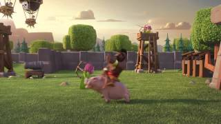 CLASH OF CLANS NEW TRAILER --- BALLOON PARADE! --- Official TV Commercial 2015!