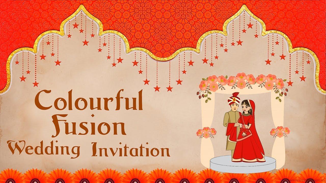 CA112 Indian Wedding Invitation Save