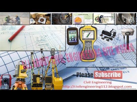 GPS Trimble  TSC2 series setup and topo method
