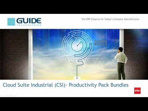 CSI Productivity Pack